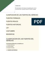 Las Fuentes Del Derecho. Otra