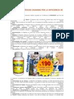CONDICIONES MÉDICAS CAUSADAS POR LA DEFICIENCIA DE MAGNESIO