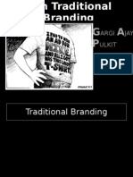 Non Traditional Branding