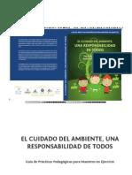 Libro El Cuidado Del Medio Ambiente Una Responsabilidad de Todos