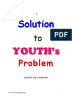 solution to youh's problem by Asghar Ali Chowdhary