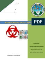 Bioseguridad en El Laboratorio