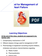 Pharmacology 3 - Management of Heart Failure