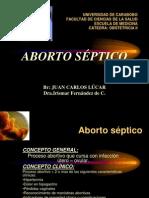 aborto septico