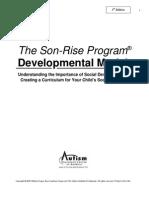 Son Rise Program Developmental Model