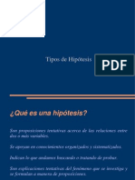 hipotesis de investigación