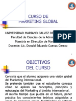 Programa Marketing Global