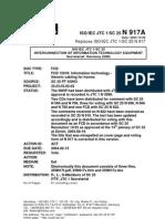 Iso-iec 15018 Fcd (Sc 25 n 917a) Res