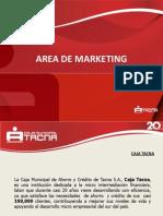 Inducción Area de Marketing 2012
