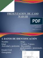 Presentación caso WAIS-III