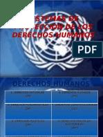 Sistemas de Proteccion de Los Derechos Humanos