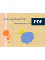 Curso Libre Power Point WGNM