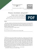 Carlin Mayer Journal of Financial Economics