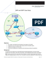 Ccnpv6 Route Lab4-4 Eigrp Ospf Case Study Student