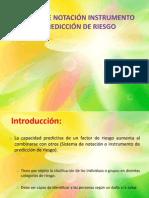 SISTEMA DE NOTACIÓN INSTRUMENTO DE PREDICCIÓN DE RIESGO - copia