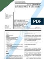 NBR 5410 INSTYALAÇÕES ELÉTRICAS DE BAIXA TENSÃO
