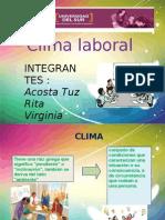 Direccion II Clima Laboral