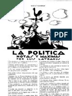 lapolitica_1928