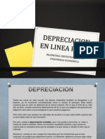 Exposicion Depreciacion en Linea Recta