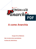 A Come Anarchia