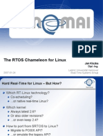 The RTOS Chameleon for Linux