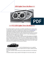 Ve Led Lights For Holden Commodores
