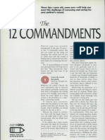 12 Commandments Wound Care