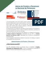 Administradores de Fondos y Pensiones (1)