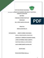 (Modulacion Delta)Instuto Politecnico Nacional