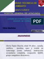 Caso Clinico Otorrinolaringologia