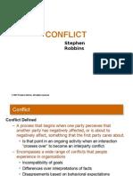 Organizational Behaviour Conflict