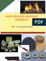 Heat Resistant Ceramics