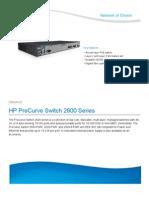 Hp Procurve 2600 Series