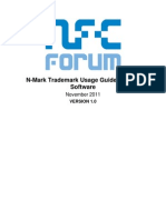 N-Mark Trademark Usage Guidelines for Software