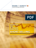 Report on Short Selling