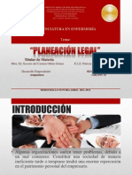 Planeación legal
