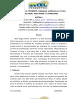 RACIONALIZAÇÃO DE PROCESSOS COM ÊNFASE NA PRODUÇÃO_