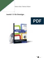 Joomla1.5 - Beispielprojekt mit vielen Praxistipps