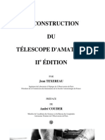 LA CONSTRUCTION DU TÉLESCOPE D'AMATEUR