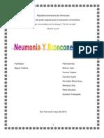 Neumonia y Bronconeumonia