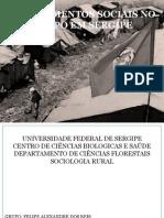 Os Movimentos Sociais No Campo Em Sergipe