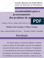 Artigos Críticos, Semi Críticos e Não Críticos