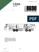 Ww6lhtwv6muUOvTZLink-Belt HTC-8690 90-Ton Telescopiv Boom Truck Crane Network