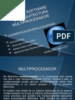 DISEÃ'O DE SOFTWARE DE ARQUITECTURA  MULTIPROCESADOR