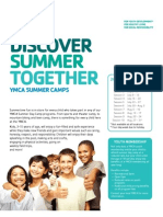 2012 Camp Brochure
