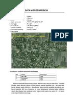 Data Monografi Sidorejo