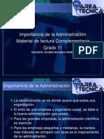 Material Administracion