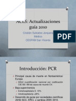 ACLS Cambios