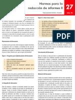 27 Normas Para La Redaccion Informes II