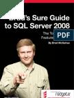 Brads Sure Guide to Sq l Server 2008